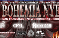 New Bohemia at the Armory on New Year's Eve!