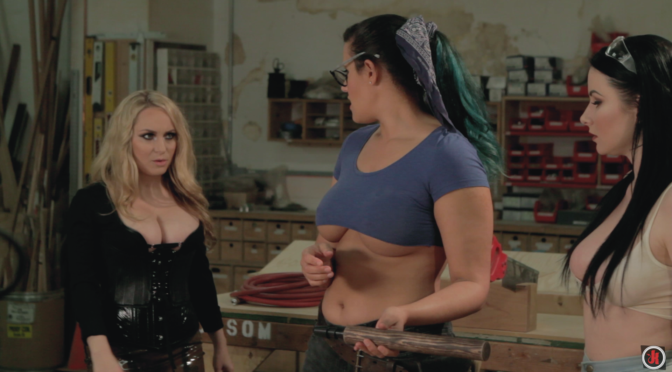 """Aiden Starr Talks """"Big Butts"""" with Penny Barber & Veruca James"""